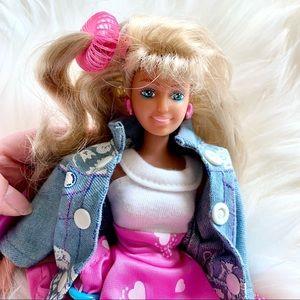 80s Lookin Smart Maxie vintage Barbie - like doll